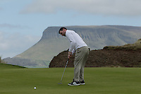 Ciaran McKenna (Mallow) during round 1 of The West of Ireland Amateur Open in Co. Sligo Golf Club on Friday 18th April 2014.<br /> Picture:  Thos Caffrey / www.golffile.ie