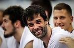 Kosarka-Basketball<br /> Srbija v Grcka-Prijateljski Mec<br /> from left Nikola Kalinic Milos Teodosic Nemanja Nedovic<br /> Beograd, 28.06.2016.<br /> foto: Srdjan Stevanovic/Starsportphoto &copy;