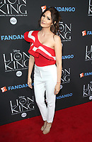 "05 August 2017 - Los Angeles, California - Cynthia Olvarria. ""The Lion King"" Sing-Along Screening. Photo Credit: F. Sadou/AdMedia"