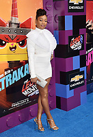 WESTWOOD, CA - FEBRUARY 02: Tiffany Haddish attends the Premiere Of Warner Bros. Pictures' 'The Lego Movie 2: The Second Part' at Regency Village Theatre on February 2, 2019 in Westwood, California.<br /> CAP/ROT/TM<br /> ©TM/ROT/Capital Pictures
