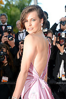 "Milla Jovovich attending the ""On the Road"" Premiere during the 65th annual International Cannes Film Festival in Cannes, 23.05.2012...Credit: Timm/face to face"
