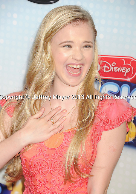 LOS ANGELES, CA- APRIL 27: Actress Sierra McCormick arrives at the 2013 Radio Disney Music Awards at Nokia Theatre L.A. Live on April 27, 2013 in Los Angeles, California.