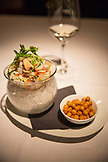 CANADA, Vancouver, British Columbia, Blue Water Cafe and Raw Bar in Yaletown, Mixed Seafood Ceviche