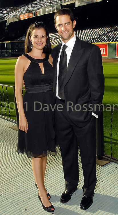 Jillian and Matt Kata at the Astros Wives Gala at Minute Maid Park Thursday Aug. 06, 2009.(Dave Rossman/For the Chronicle)