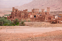 Morocco.  Tamdaght Ksar, an Historic Glaoui Settlement.