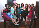 Catherine Byrne, Amanda Durnin, Jill Moore, Emma Dunne, Emma Kelly, Niamh Mullen, Audrey Wilson, Michelle Flynn and Katie Kelly at Emma Kellys 21st in Bru...Photo NEWSFILE/Jenny Matthews.(Photo credit should read Jenny Matthews/NEWSFILE)....This Picture has been sent you under the condtions enclosed by:.Newsfile Ltd..The Studio,.Millmount Abbey,.Drogheda,.Co Meath..Ireland..Tel: +353(0)41-9871240.Fax: +353(0)41-9871260.GSM: +353(0)86-2500958.email: pictures@newsfile.ie.www.newsfile.ie.FTP: 193.120.102.198.