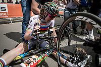 World Champion Anna van der Breggen (NED/Boels Dolmans) wins her 5th Flèche in a row!  <br /> <br /> 22nd la Flèche Wallonne Féminin 2019 (1.WWT)<br /> 1 Day Race: Huy – Huy 118,5km<br /> women's elite race<br /> <br /> ©kramon