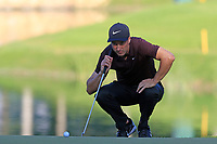 Ross Fisher (ENG) on the 6th green during Saturday's Round 3 of the 2018 Turkish Airlines Open hosted by Regnum Carya Golf &amp; Spa Resort, Antalya, Turkey. 3rd November 2018.<br /> Picture: Eoin Clarke | Golffile<br /> <br /> <br /> All photos usage must carry mandatory copyright credit (&copy; Golffile | Eoin Clarke)