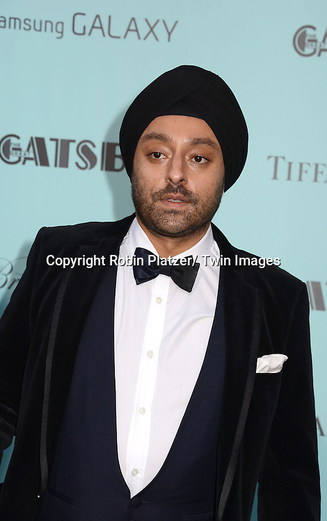 "Vikram Chatwal attends the world Premiere of ""The Great Gatsby"" on  May 1, 2013 at Avery Fisher Hall in Lincoln Center in New York City. The movie stars Leonardo DiCaprio, Tobey Maguire, Carey Mulligan, Joel Edgerton, Isla Fisher, Amitabh Bachchan, Adelaide Clemens, Callan McAuliffe and Kate Mulvany. The movie was directed by Baz Luhrmann."