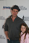 Law and Order's SBU Chrstopher Melonii w/his daughter Sophie at the 2009 Skating with the Stars - a benefit gala for Figure Skating in Harlem on April 6, 2009 at Wollman Rink, Central Park, NYC, NY. (Photo by  Sue Coflin/Max Photos)