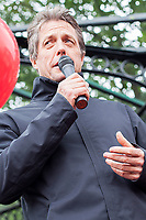 JUN 06 Hugh Grant supporting a Labour Rally in Cannock