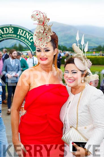 Sandra Murphy and Irene Twohig enjoying ladies day at  Killarney Races on Saturday