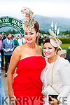 Sandra Murphy and Irene Twohig enjoying ladies day at  Killarney Races on Saturday