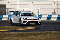 IMSA Continental Tire SportsCar Challenge<br /> December Test<br /> Daytona International Speedway<br /> Daytona Beach, FL USA<br /> Wednesday, 06 December, 2017<br /> 9, Volkswagen, Volkswagen Golf GTI TCR, TCR, Jon Miller<br /> World Copyright: Brian Cleary<br /> LAT Images