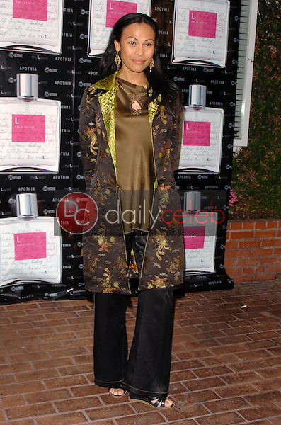 "Cassandra Hepburn<br />at the launch of ""L eau de parfum"". Fred Segal, Los Angeles, CA. 02-15-06<br />Scott Kirkland/DailyCeleb.Com 818-249-4998"