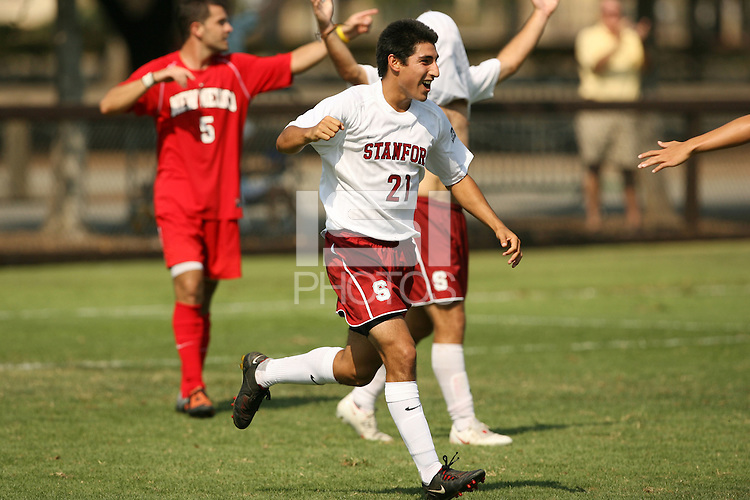 STANFORD, CA - SEPTEMBER 27:  Daniel Leon of the Stanford Cardinal during Stanford's 2-0 win over New Mexico State on September 27, 2009 at Laird Q. Cagan Stadium in Stanford, California.