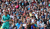 Burnley fans watch on during the second half<br /> <br /> Photographer Alex Dodd/CameraSport<br /> <br /> The Premier League - Burnley v Arsenal - Sunday 12th May 2019 - Turf Moor - Burnley<br /> <br /> World Copyright © 2019 CameraSport. All rights reserved. 43 Linden Ave. Countesthorpe. Leicester. England. LE8 5PG - Tel: +44 (0) 116 277 4147 - admin@camerasport.com - www.camerasport.com