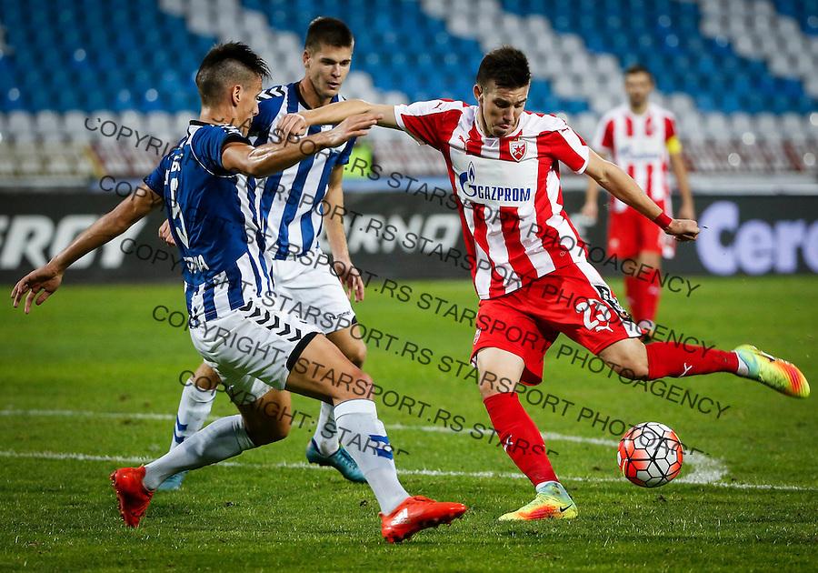 Fudbal Kup Srbije season 2016-2017<br /> Crvena Zvezda V BSK Borca<br /> Andrija Lukovic (R) and Marko Marinkovic<br /> Beograd, 26.10.2016.<br /> foto: Srdjan Stevanovic/Starsportphoto&copy;