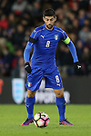 Italy's Marco Benassi in action during the Under 21 International Friendly match at the St Mary's Stadium, Southampton. Picture date November 10th, 2016 Pic David Klein/Sportimage