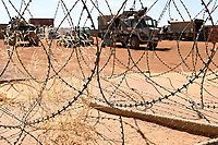 MALI, Gao, Minusma UN peace keeping mission, Camp Castor, german army Bundeswehr, military vehicle