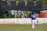 BASEBALL - POLES BASEBALL FRANCE - TRAINING CAMP CUBA - HAVANA (CUBA) - 13 TO 23/02/2009 - JONATHAN DECHELLE (FRANCE)