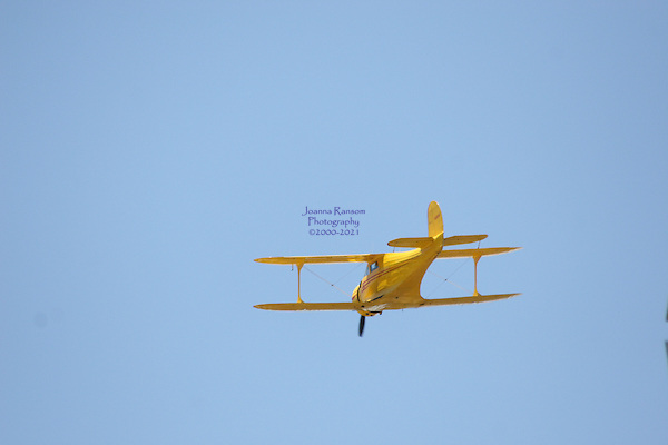 Hang Gliding in Yosemite National park and Bi Plane in flight Over Mariposa Ca.