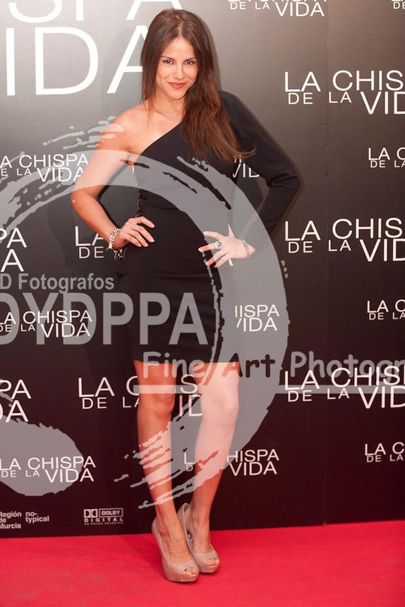"""12/01/2012. Callao Cinema. Madrid. Spain. """"La chispa de la vida"""" premiere. Monica Hoyos"""