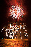 Fireworks, Fourth of July - Independence Day, Kailua Bay, Kailua Kona, Big Island