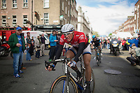Marcel Kittel (DEU/Giant-Shimano) rolling out after winning his 2nd consecutive Giro stage<br /> <br /> Giro d'Italia 2014<br /> stage 3: Armagh (NI) - Dublin (IRL) 187km