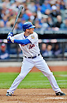 11 April 2012: New York Mets outfielder Jason Bay in action against the Washington Nationals at Citi Field in Flushing, New York. The Nationals shut out the Mets 4-0 to take the rubber match of their 3-game series. Mandatory Credit: Ed Wolfstein Photo
