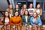 Roisin Long from Ballymac celebrating her 15th birthday in La Scala on Saturday night.  <br /> Seated l-r, Lola Leprince, Charlotte Hart, Roisin Long and Jade Riordan.<br /> Back l-r, Millie Dunne, Emily O&rsquo;Brien, Laura Dunne, Cora Savage and Lauren Clifford.