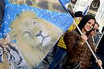 Manifestazione in difesa del Circo con animali