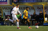 Dan Wishart of Maidstone races upfield during Maidstone United vs Torquay United, Emirates FA Cup Football at the Gallagher Stadium on 9th November 2019