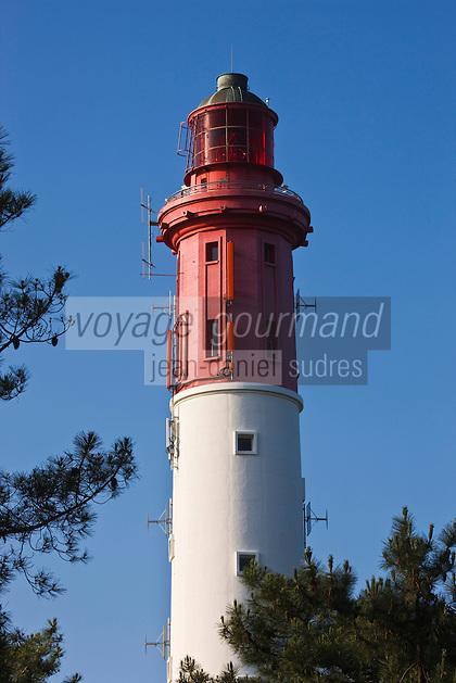 Europe/France/Aquitaine/Gironde/Bassin d'Arcachon/Cap Ferret: Le phare