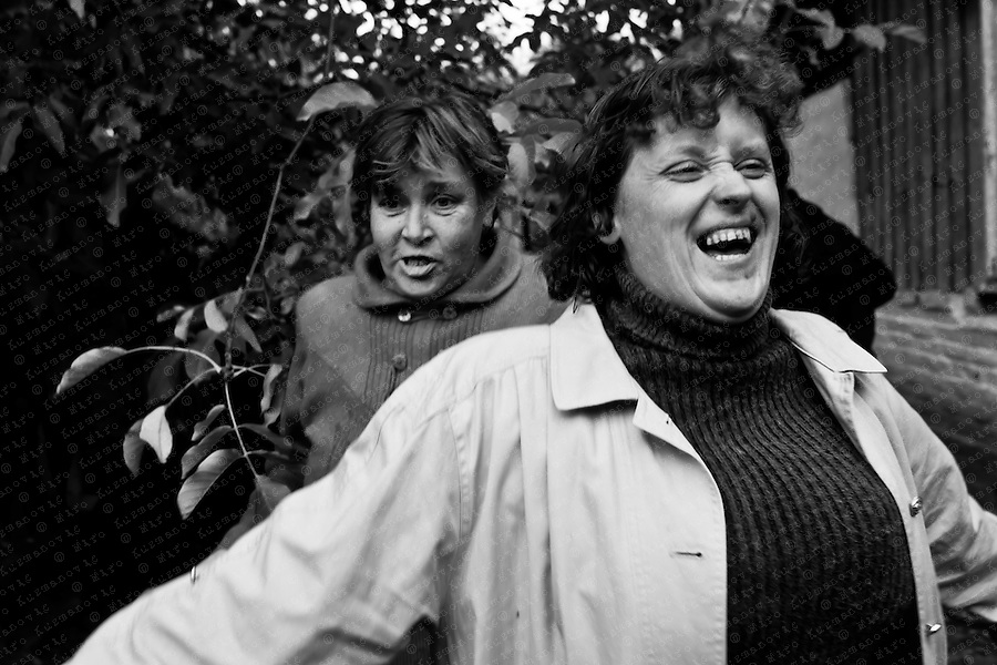 People drink and sing during a party a in Ivankov, a half-deserted village near Chernobyl.Alcohol has always had a special place in Slavic society, where vodka translates literally as ?little water? and where binge-drinking is an accepted norm even among young teenagers.