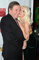 LOS ANGELES - FEB 9:  Jerry Mathers, Courtney Stodden at the 5th Annual Roger Neal & Maryanne Lai Oscar Viewing Dinner at the Hollywood Museum on February 9, 2020 in Los Angeles, CA