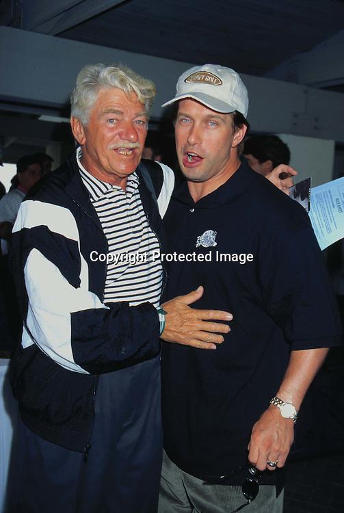 "©KATHY HUTCHINS/HUTCHINS.6/23/97 "" APLA GOLF TOURNAMENT"".SEYMOUR CASSEL & STEPHEN BALDWIN"