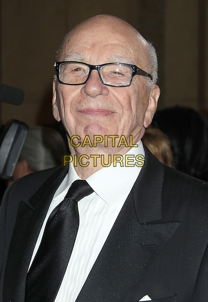 Rupert Murdoch.85th Annual Academy Awards held at the Dolby Theatre at Hollywood & Highland Center, Hollywood, California, USA..February 24th, 2013.oscars headshot portrait black suit white shirt tie glasses .CAP/ADM/RE.©Russ Elliot/AdMedia/Capital Pictures.