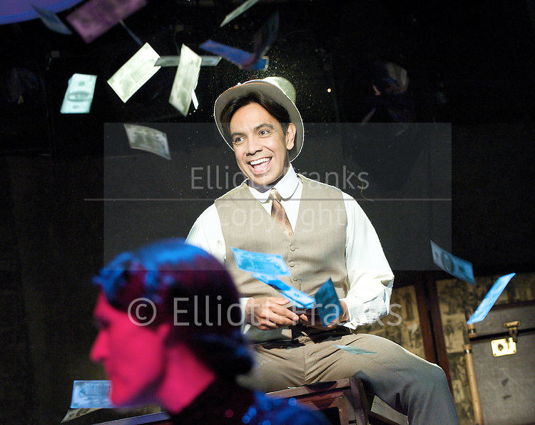 Stephen Sondheim's <br /> Road Show<br /> at the Menier Chocolate Factory, London, Great Britain <br /> press photocall <br /> 5th July 2011 <br /> <br /> European Premier<br /> <br /> <br /> David Bedella (as Wilson Mizner)<br /> <br /> Photograph by Elliott Franks