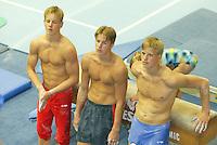 TURNEN: HEERENVEEN: 2003, Turnhal, Epke, Herre en Johan Zonderland, ©foto Martin de Jong