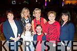 Breda O'Connor with four generations of her family at the Strictly Come Dancing in aid of the Irish Cancer Society in the INEC on Friday night front l-r: Chiarda O'Connor and Dani Tangney-Kissane. Back row: Rose Tangney, Jessica O'Connor, Breeda O'Connor, Tess Carroll and Claire Tangney