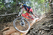 8th September 2017, Smithfield Forest, Cairns, Australia; UCI Mountain Bike World Championships; Gee Atherton (GBR) riding for Trek Factory Racing DH during the downhill official timed session;