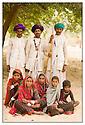 Inde<br /> D&eacute;sert du Rajasthan, groupe de berger