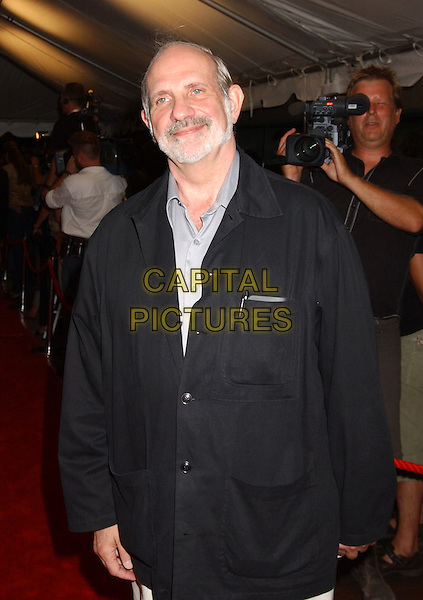 "BRIAN DE PALMA.2005 Toronto Film Festival - ""Where The Truth Lies"" Premiere held at Roy thomson Hall, Toronto, Ontario..September 13th, 2005 .Photo Credit: Laura Farr/AdMedia/Capital Pictures.half length black jacket.www.capitalpictures.com.sales@capitalpictures.com.© Capital Pictures."