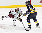 Benn Ferreiro, Bryan Schmidt - Boston College defeated Merrimack College 3-0 with Tim Filangieri's first two collegiate goals on November 26, 2005 at Kelley Rink/Conte Forum in Chestnut Hill, MA.