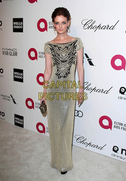 WEST HOLLYWOOD, CA - March 02: Lydia Hearst at the 22nd Annual Elton John AIDS Foundation Oscar Viewing Party Arrivals, Private Location, West Hollywood,  March 02, 2014. <br /> CAP/MPI/JO<br /> &copy;JO/MPI/Capital Pictures