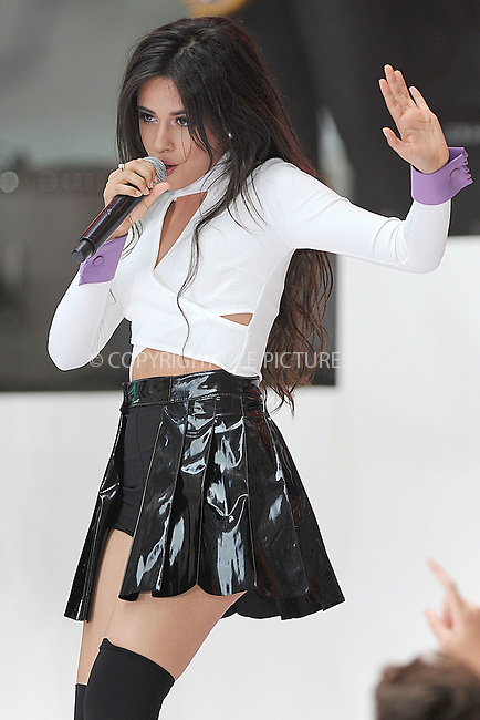WWW.ACEPIXS.COM<br /> July 10, 2015 New York City<br /> <br /> Camila Cabello of Fifth Harmony performing in Concert on NBC's 'Today' at Rockefeller Plaza on July 10, 2015 in New York City.<br /> <br /> Credit: Kristin Callahan/ACE Pictures<br /> Tel: (646) 769 0430<br /> e-mail: info@acepixs.com<br /> web: http://www.acepixs.com
