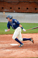 Mobile BayBears shortstop Nick Ahmed #7 during a game against the Pensacola Blue Wahoos on April 14, 2013 at Hank Aaron Stadium in Mobile, Alabama.  Mobile defeated Pensacola 5-2.  (Mike Janes/Four Seam Images)
