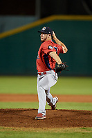 Peoria Chiefs relief pitcher Robbie Gordon (37) delivers a pitch during a game against the Bowling Green Hot Rods on September 15, 2018 at Bowling Green Ballpark in Bowling Green, Kentucky.  Bowling Green defeated Peoria 6-1.  (Mike Janes/Four Seam Images)