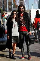 Juan Ibanez arrives to Maria Cristina Hotel during the 62st San Sebastian Film Festival in San Sebastian, Spain. September 19, 2014. (ALTERPHOTOS/Caro Marin) <br /> Festival del film di San Sebastian <br /> Foto Alterphotos/Insidefoto